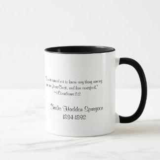 Charles Spurgeon Large Vintage Mug