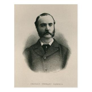 Charles Stewart Parnell 2 Tarjeta Postal