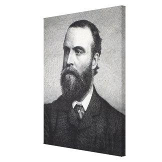 Charles Stewart Parnell Canvas Print