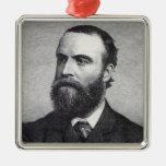 Charles Stewart Parnell Metal Ornament