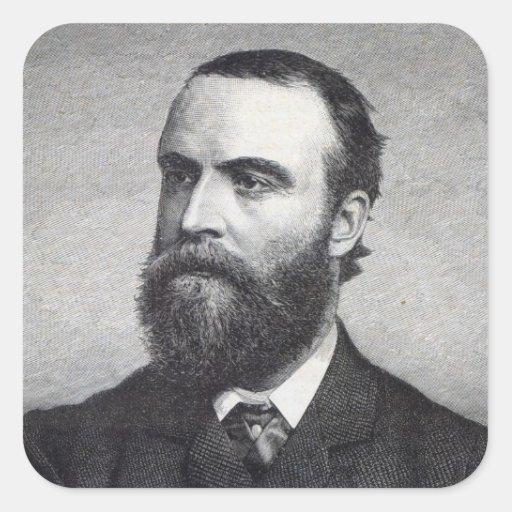 Charles Stewart Parnell Square Sticker