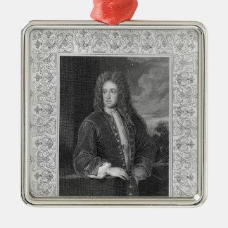 Charles Talbot, Duke of Shrewsbury Metal Ornament