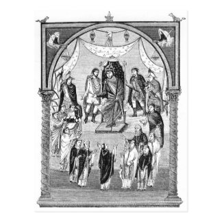 Charles the Bald, King of France Postcard