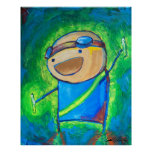 "Charles the Raver 24x30"" Posters"