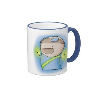 Charles the Raver mug - Blue