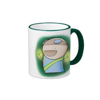 Charles the Raver mug - Green