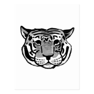 Charles The Tiger | choose your color Postcard