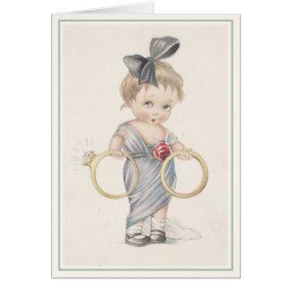 Charles Twelvetrees Greeting Card Illustration