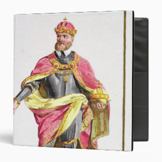 Charles V (1500-58) from 'Receuil des Estampes, re Binder