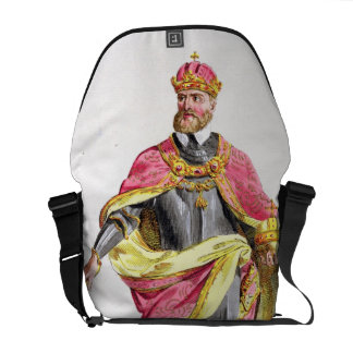 Charles V (1500-58) from 'Receuil des Estampes, re Messenger Bag