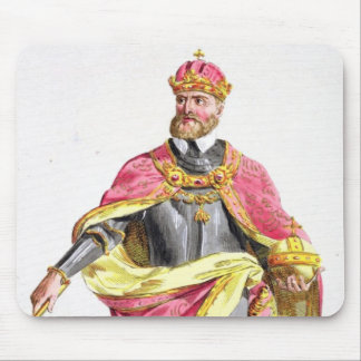 Charles V (1500-58) from 'Receuil des Estampes, re Mouse Pad