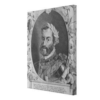 Charles V, Holy Roman Emperor Canvas Print