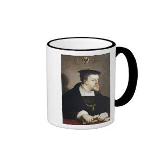 Charles V  Holy Roman Emperor Ringer Mug