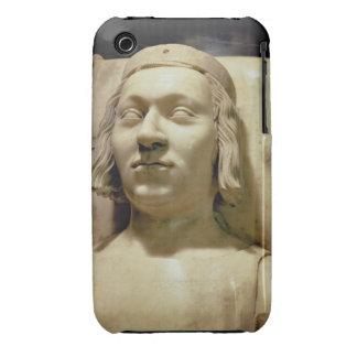 """Charles V (las 1338-80) efigies """"sabia"""" de la Funda Bareyly There Para iPhone 3 De Case-Mate"""
