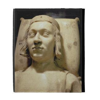 """Charles V (las 1338-80) efigies """"sabia"""" de la tumb"""