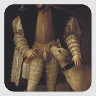 Charles V Square Sticker