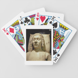 Charles V the 'Wise' (1338-80) tomb effigy, c.1364 Bicycle Card Deck