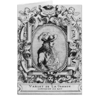 Charles Varlet, known as La Grange Card