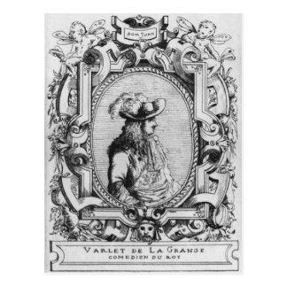 Charles Varlet, known as La Grange Postcard