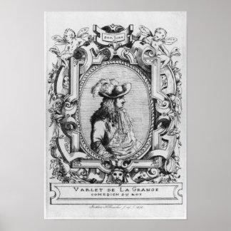 Charles Varlet, known as La Grange Poster