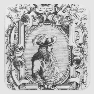 Charles Varlet, known as La Grange Square Sticker