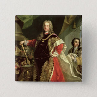 Charles VI , Holy Roman Emperor wearing the Button