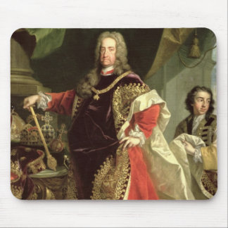 Charles VI , Holy Roman Emperor wearing the Mouse Pad