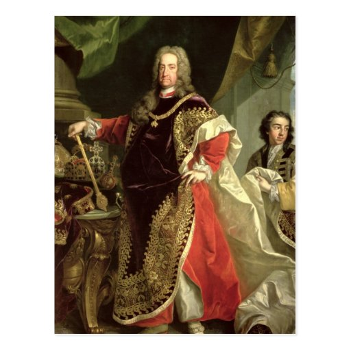 Charles VI , Holy Roman Emperor wearing the Postcards
