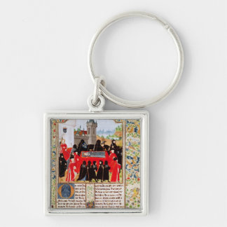 Charles VI of France's funeral Keychain