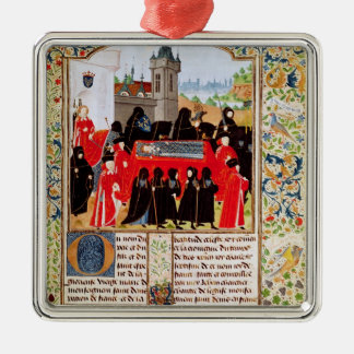 Charles VI of France's funeral Metal Ornament