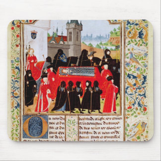 Charles VI of France's funeral Mouse Pad