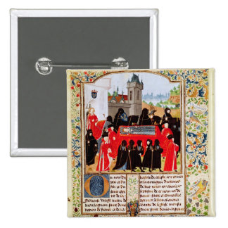 Charles VI of France's funeral Pinback Button