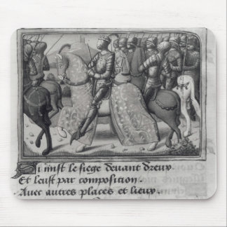 Charles VII  and Joan of Arc at the Siege of Mouse Pad