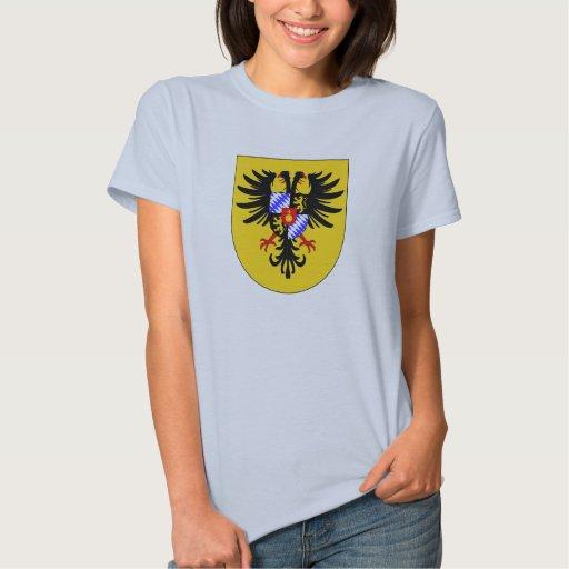 Charles VII arma el emperador romano santo de la T Shirt