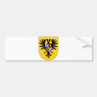 Charles VII Arms imperial Coat Holy Roman Emperor Bumper Sticker