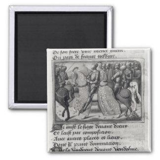 Charles VII y Juana de Arco en el cerco de Imán Cuadrado