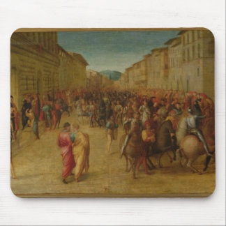 Charles VIII (1470-98) entering Florence, c.1518 ( Mouse Pad