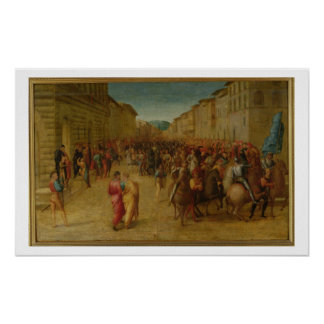 Charles VIII (1470-98) Florencia que entran, c.151 Impresiones