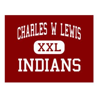 Charles W Lewis - indios - centro - Blackwood Tarjetas Postales