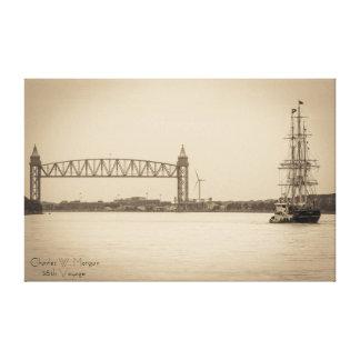 Charles W. Morgan 38th Voyage Canvas Print