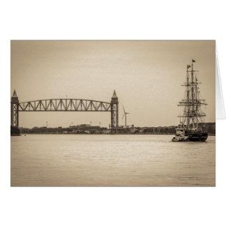Charles W. Morgan 38th Voyage Greeting Card