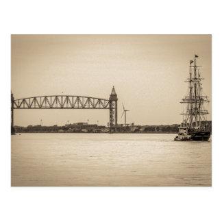 Charles W. Morgan 38th Voyage Postcard