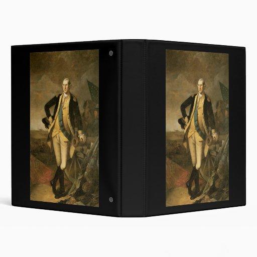 Charles Willson Peale George Washington Binder