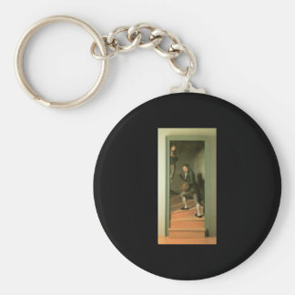 Charles Willson Peale The Staircase Group Keychain