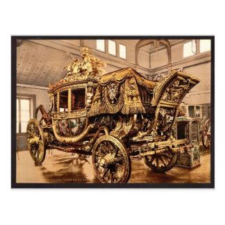 Charles X, carro, vintage pH de Versalles, Francia Postales