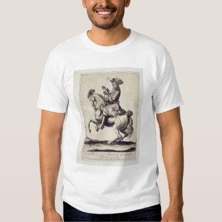 Charles XI (1655-97) (engraving) Shirt