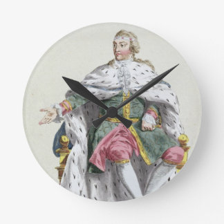 Charles XII (1682-1718) King of Sweden from 'Receu Round Clocks