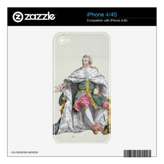 Charles XII (1682-1718) King of Sweden from 'Receu iPhone 4 Decals