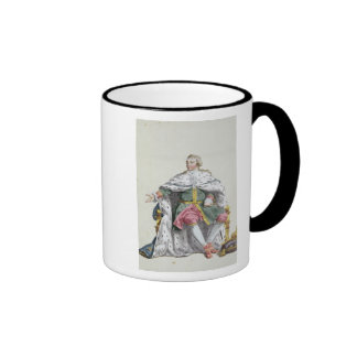 Charles XII (1682-1718) King of Sweden from 'Receu Mug