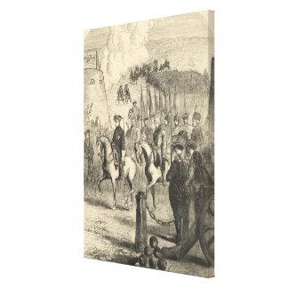 Charles XII of Sweden entering Copenhagen Canvas Print